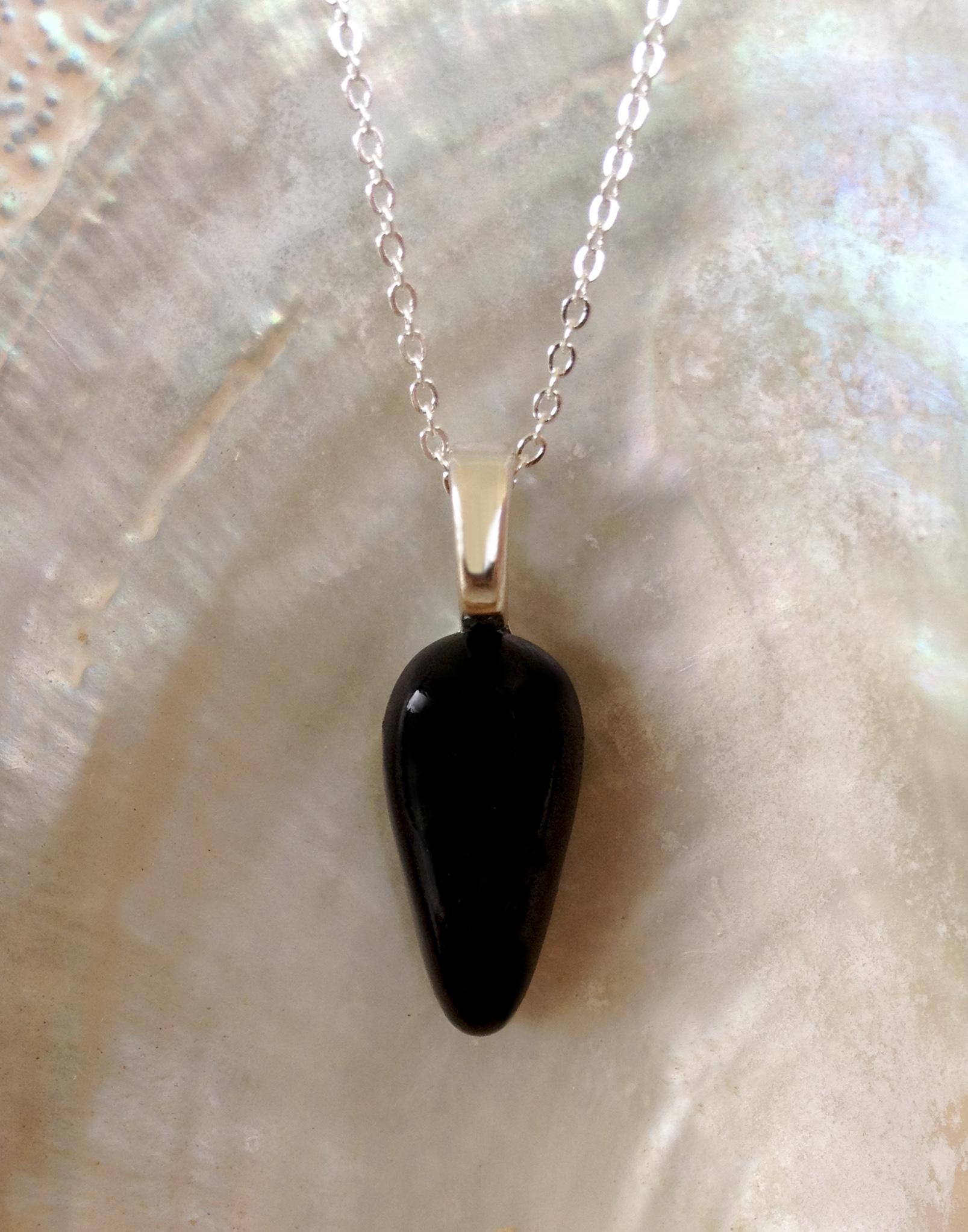 Enhanced orgone black pendant divine kauai by divine kauai beautiful enhanced orgonite pendant from divine kauai powerful necklace orgone jewelry aloadofball Images