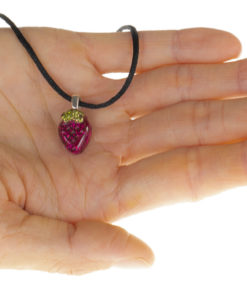 Child's Powerful Orgone Heart Beautiful Pink Orgonite Pendant Necklace Orgone Jewelry for kids. Children's orgonite